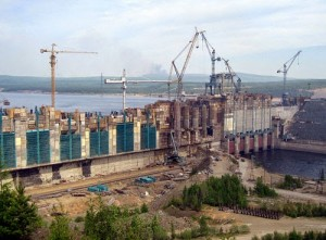Óriási vízerőmű Oroszországban