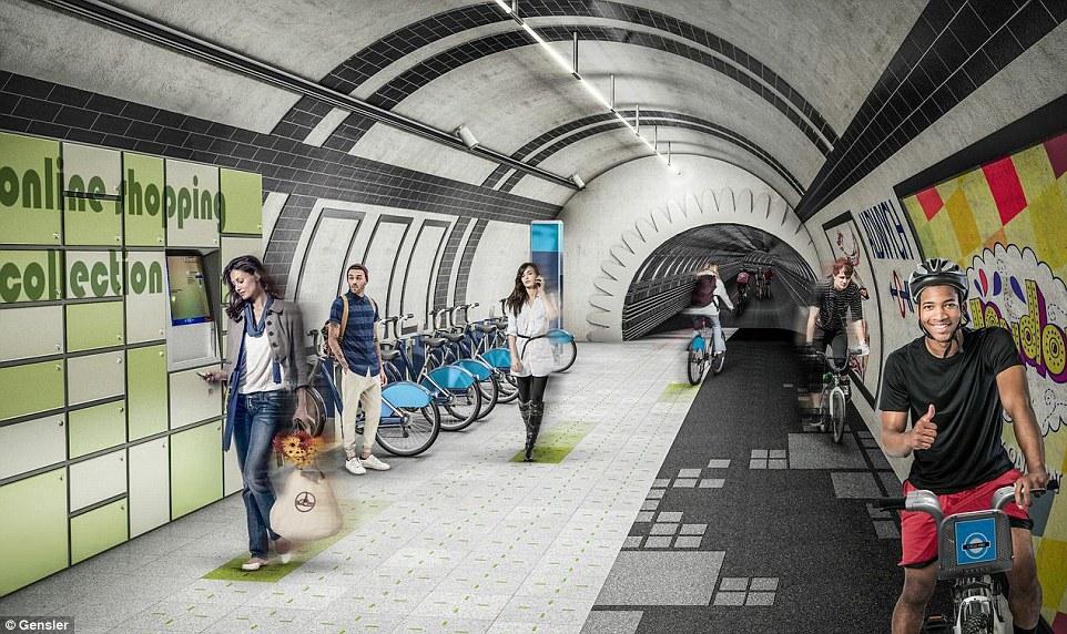 Leköltöznek a föld alá a kerékpárosok Londonban?