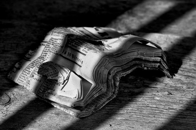 Mi legyen a rengeteg újságpapírral?