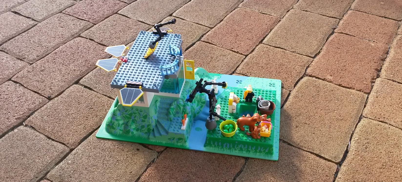 Környezettudatos LEGO otthon