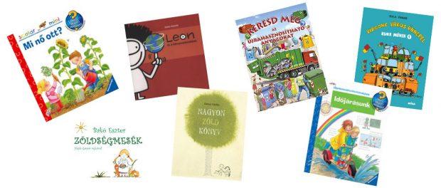 30 gyerekkönyv a nyári szünetre környezetünk védelméről