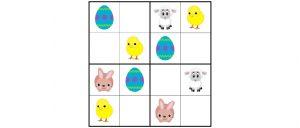 Húsvéti sudoku