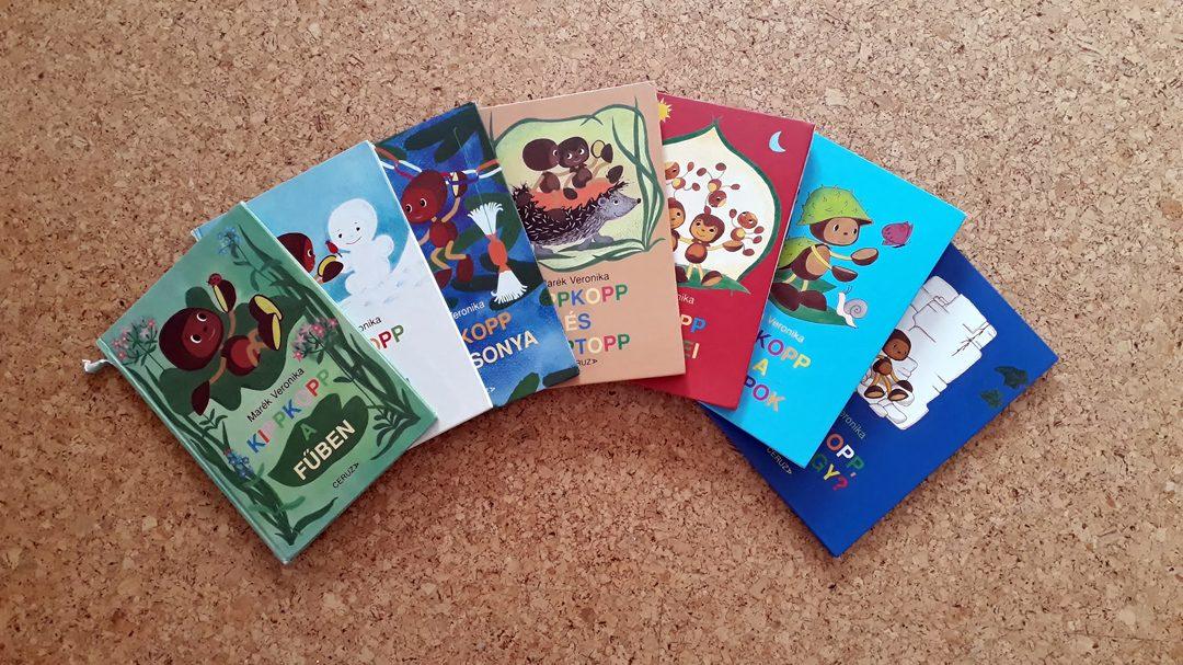 Kedvencek a könyvespolcon - Kippkopp sorozat