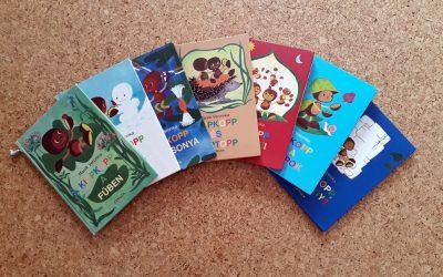 Kedvencek a könyvespolcon – Kippkopp sorozat
