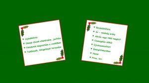 Zöld ünnepek - készíts elő mindent