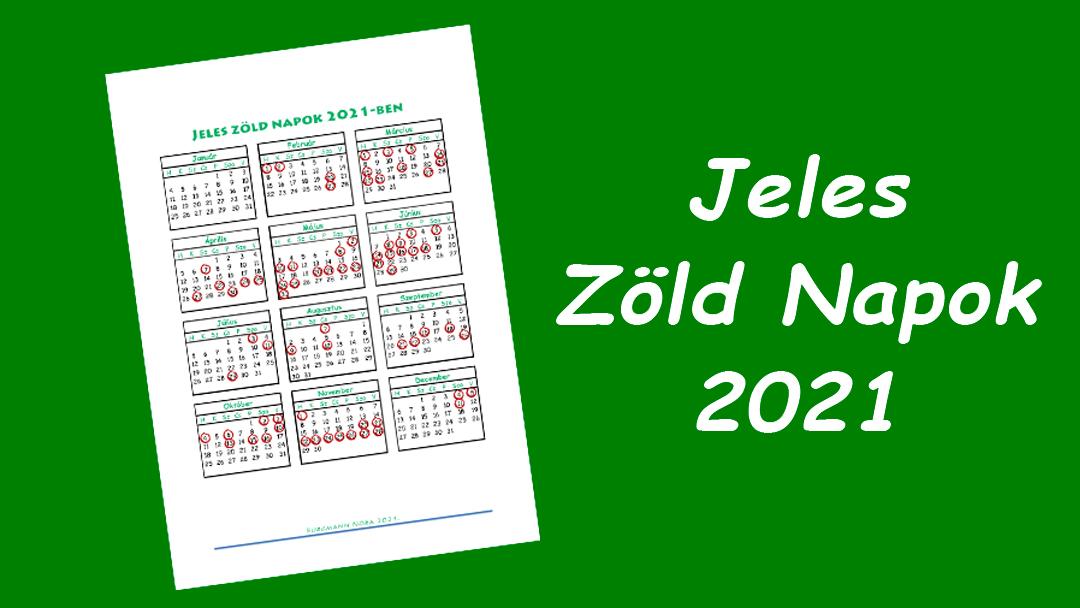 Jeles Zöld Napok 2021
